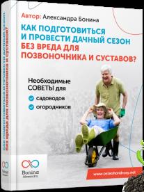 Постер: Как подготовиться и провести дачный сезон без вреда для позвоночника и суставов