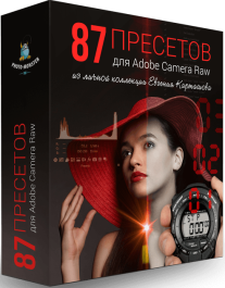 Постер: 87 пресетов для Adobe Camera Raw