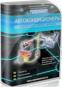 Постер: Автокондиционеры. Диагностика, ремонт, заправка