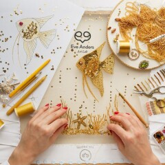 Онлайн-школа вышивки и дизайна Eve Anders Art Lab