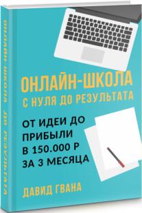 Постер: Онлайн-школа с нуля до результата