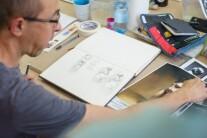 Постер: 6 акварелей в стиле «ню» Франка Перро