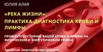 Постер: Река жизни: Практика-диагностика крови и лимфы