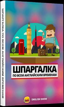 Постер: Шпаргалка по всем английским временам