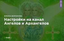 Постер: Настройки на канал Ангелов и Архангелов