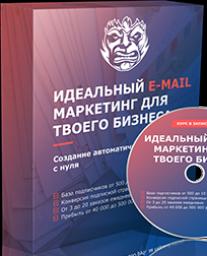 Постер: Идеальный E-mail маркетинг для твоего бизнеса