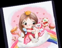 Постер: Создание милых персонажей «Ми-милая иллюстрация»