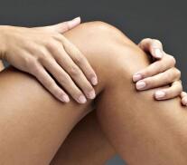 Постер: 9 волшебных точек исцеления коленей