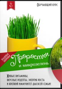 Постер: Проростки и микрозелень