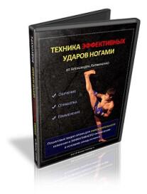 Постер: Техника ЭФФЕКТИВНЫХ ударов ногами